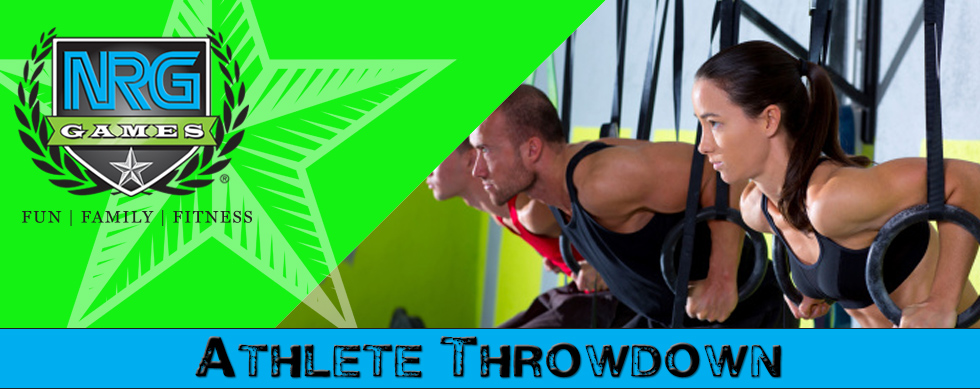 Athlete throwdown « the garage games series
