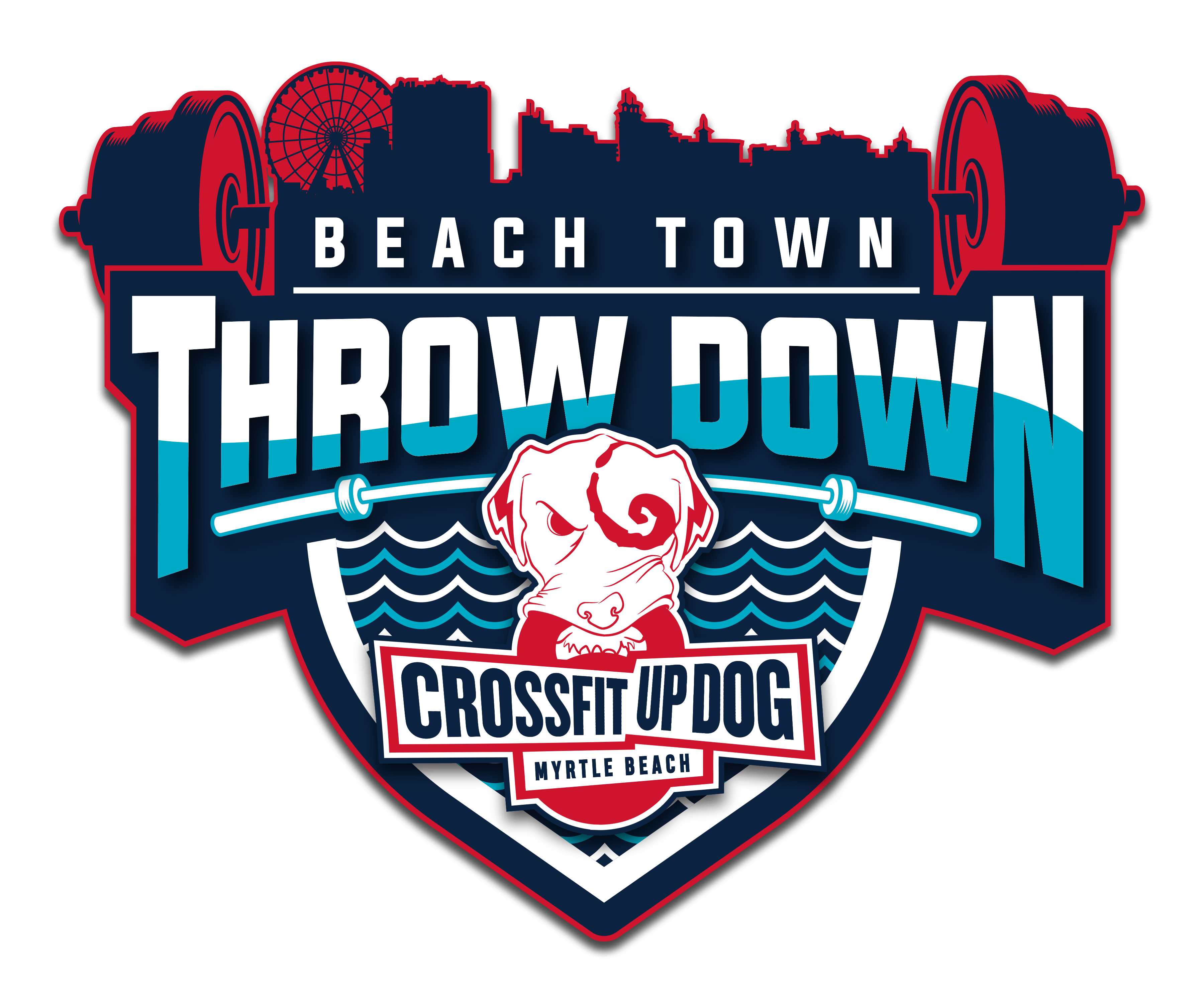 Crossfit up dog beach town throw down « the garage games